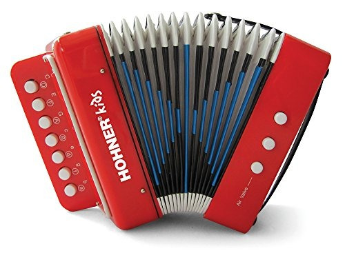Imagen 1 de 2 de Hohner Kids Uc102r Efecto De Acordeon De Juguete Musical