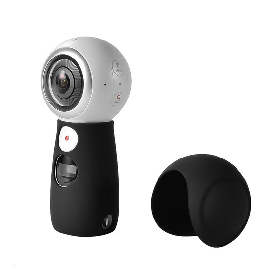 Tampa Capa Protetora Silicone P Câmera Samsung Gear 360 2017