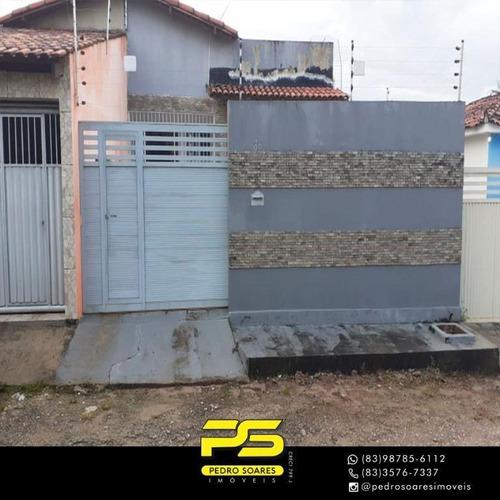 Casa Com 3 Dormitórios À Venda Por R$ 220.000 - João Paulo Ii - João Pessoa/pb - Ca0584