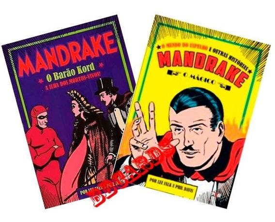 Hqs Mandrake Enfrenta Ekardnam E Barão Kord 2 Volumes Novos