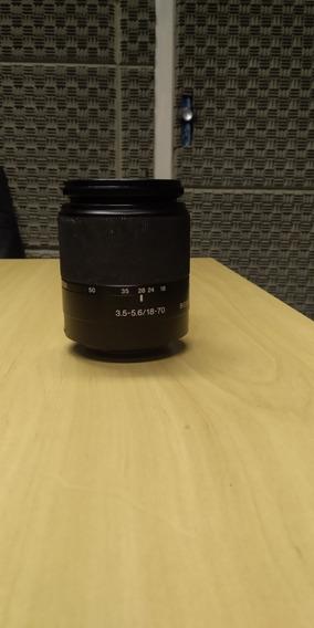 Lente Sony Dt 18-70 Macro