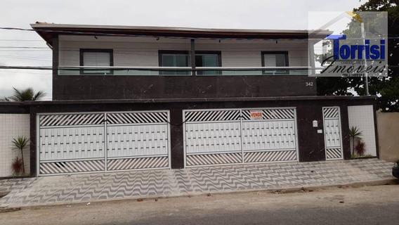 Casa Terrea Em Condomínio Na Praia Grande, 02 Dormitórios, Tude Basto, Ca0170 - Ca0170