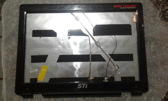 Carcaça Da Tela Notebook Sem Toshiba Sti Is1412 Completa