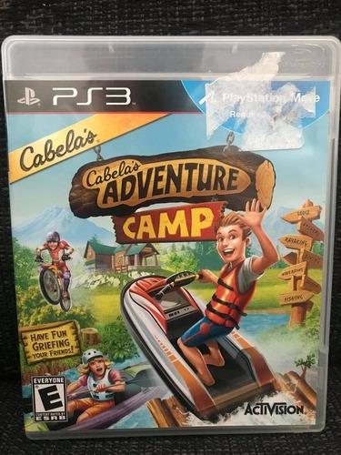 Jogo Cabelas Adventure Camp Ps3 Play 3 #frete Grátis#