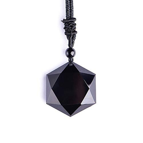 Sx Comercio Collar Colgante De Obsidiana Con Todo Tipo De P