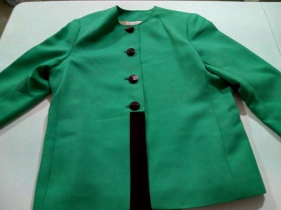 Saco Verde De Dama Casual