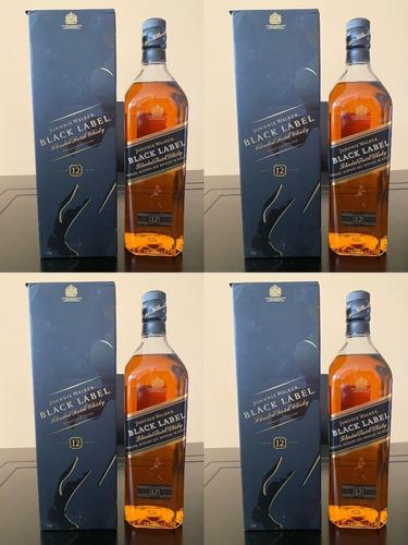 Imagen 1 de 4 de Whisky Johnnie Black Label  1litro 100% Originales