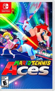 ..:: Mario Tennis Aces ::.. Para Switch En Game Center