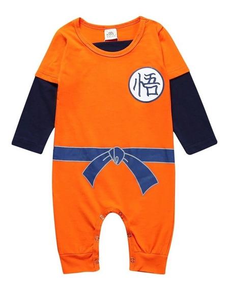 Mameluco Bebe De Goku, Disfraz