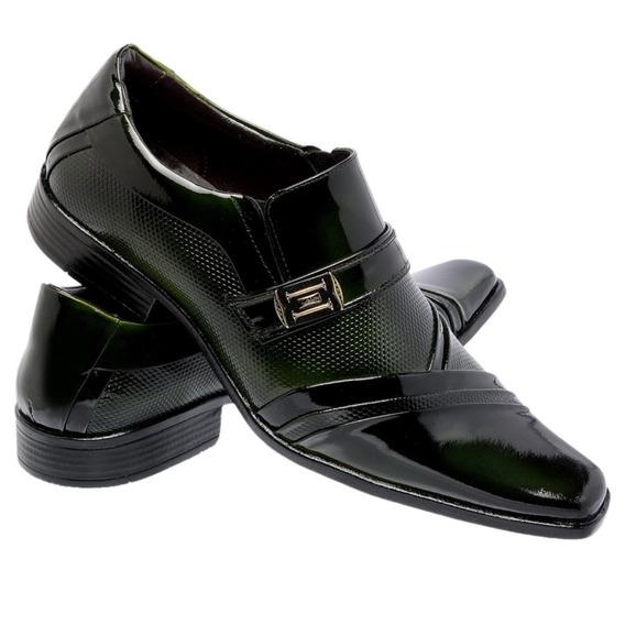 Sapato De Verniz - Ref.0751 Verde