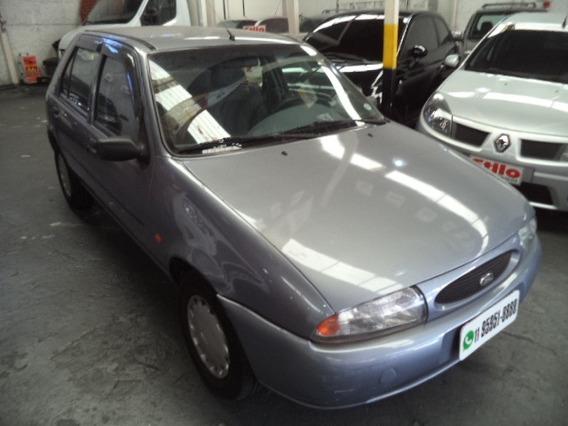 Fiesta Class 1.0 1999 Cinza Completo Pneus Novos Confira !!
