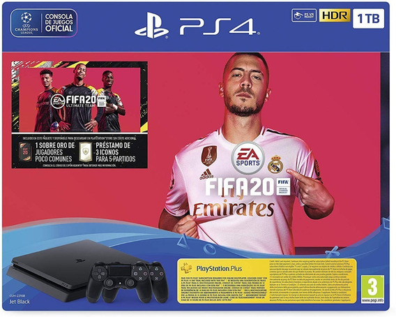 Play Station 4 Fifa 20 Pack