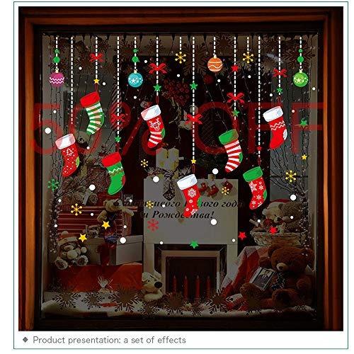 Pegatinas Para Decoracion De Ventanas De Navidad De La Marca