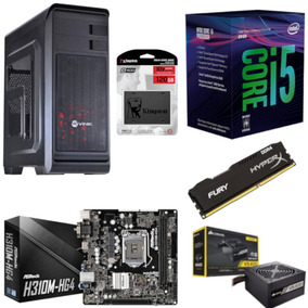 Pc Hunter Intel I5 8400 Mb H310m Hg4 Hx 4gb Vs400 Ssd 120gb