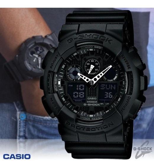 Relógio Casio G-shock Ga-100 Preto 2019