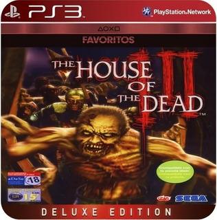 The House Of The Dead Iii Ps3 No Codigo