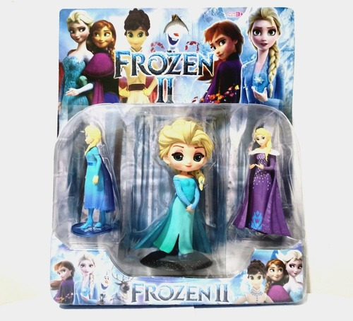Muñeca Frozen + Personajes Elsa O Ana Bonitas #toyfeliz