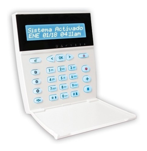 Teclado Lcd Alfanumerico Kpd-860