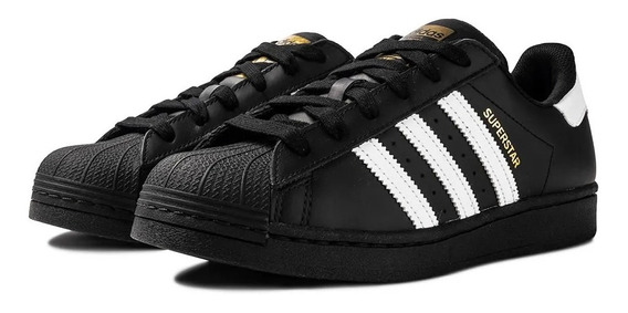 Tênis adidas Superstar Preto E Branco Street Top Oferta