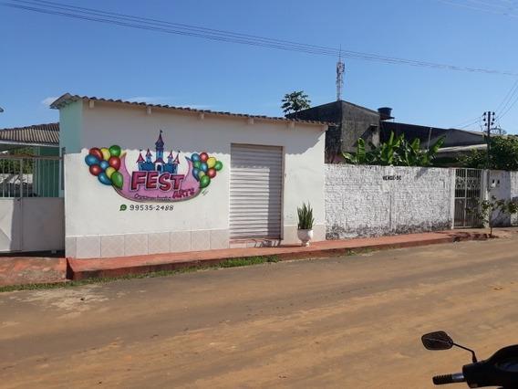*2 Lindas Casas Com Ponto Comercial No Mesmo Terreno*