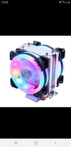 Imagem 1 de 6 de Cpu Cooler Iluminado De Alta Pefomace