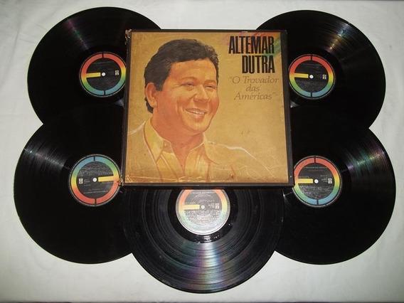 Box 5 Vinis Lps - Altemar Dutra - O Trovador Das Americas