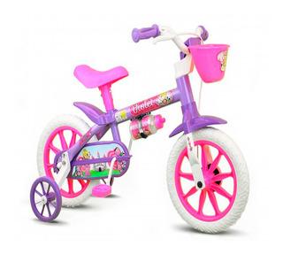 Bicicleta Infantil Aro 12 Nathor Violet