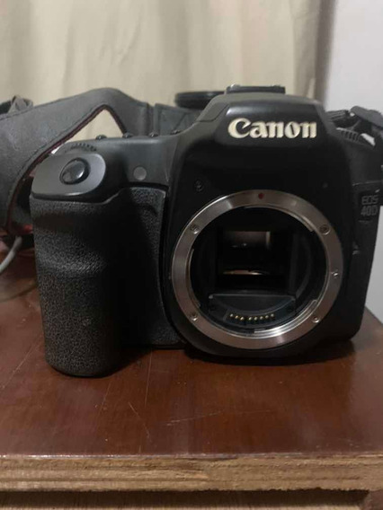 Câmera Canon Eos 40d Travada