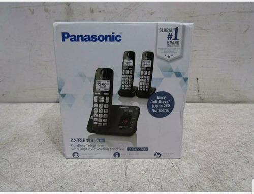 Telefono Inalambrico Panasonic Kx-tge433b Expandible Digital