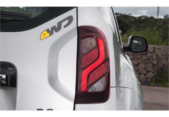 Adesivo 4wd Renault Duster Techroad Ii