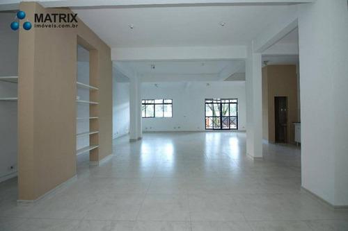 Imagem 1 de 10 de Sala Para Alugar, 118 M² Por R$ 1.800,00/mês - Boa Vista - Curitiba/pr - Sa0571