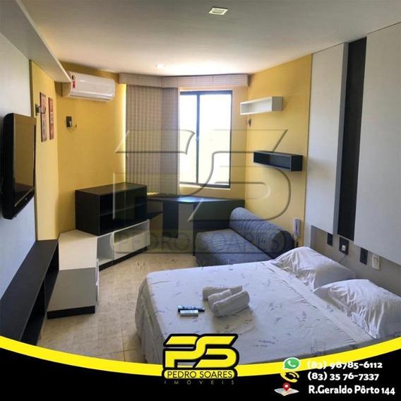 Flat Com 2 Dormitórios À Venda, 27 M² Por R$ 115.000 - Intermares - Cabedelo/pb - Fl0065