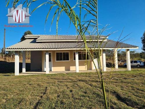Linda Chácara Com 3 Dormitórios, Próximo À Cidade, À Venda, 1900 M² Por R$ 320.000 - Rural - Pedra Bela/sp - Ch0915
