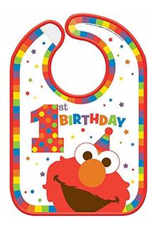 Amscan Sesame Street Elmo Turns One Baby