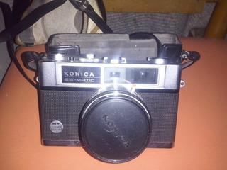 Maquina De Foto Konica Ee-matic En Su Estuche $ 1800
