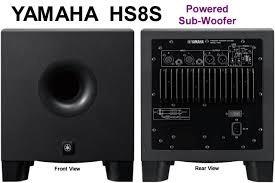 Hs8s Subwoofer Activo Yamaha, Hs8 S