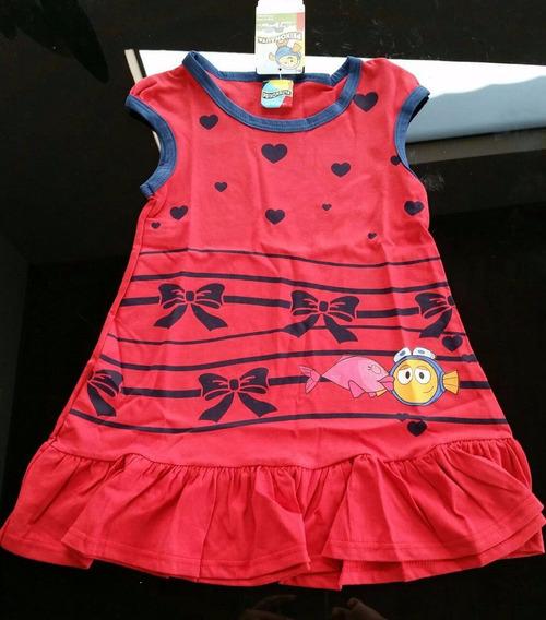 Vestido Peixonauta Menina Malwee
