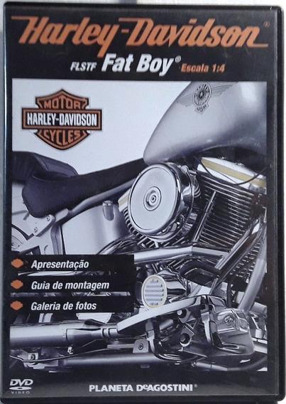 089 Fdv- 2009 Dvd Coleção- Harley Davidson- Fat Boy- Escala