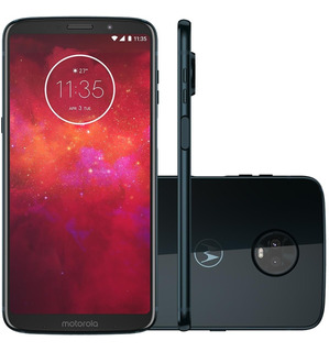 Smartphone Motorola Moto Z3 Play Xt1929/i 64gb Índigo