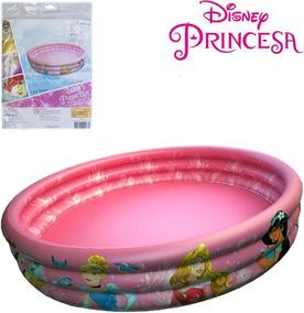 Piscina Infantil Inflável Princesas 115 L+100 Bolinhas
