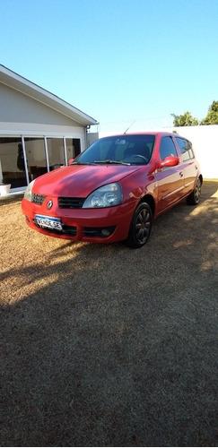 Imagem 1 de 8 de Renault Clio 2007 1.0 16v Authentique Hi-flex 5p