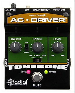Radial Engineering Tonebone Ac Driver Acoustic Instrument Pr