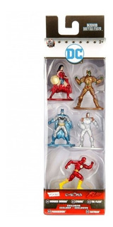 Nano Metalfigs - Dc Universe 5 Pack