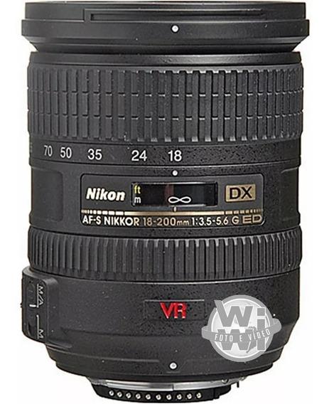 Nikkor Af-s 18-200mm F/3.5-5.6g Ed-if Dx Vr Ii (usado)