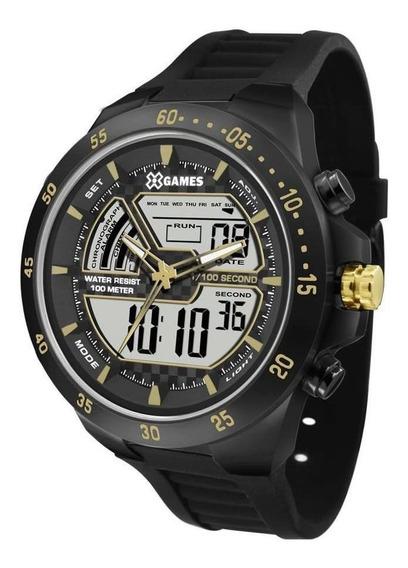 Relógio Xgames Masculino Xtyle Preto Xmnpa006bxpx