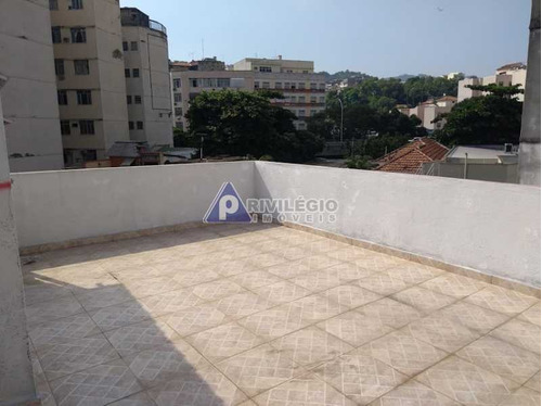 Casa De Vila À Venda, 4 Quartos, 2 Suítes, 1 Vaga, Rio Comprido - Rio De Janeiro/rj - 21642
