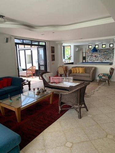 Casa Com 4 Dormitórios À Venda, 302 M² Por R$ 1.500.000,00 - De Lourdes - Fortaleza/ce - Ca0933