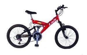 Bicicleta Rodado 20 Con Amortiguador Monoshock Bici Usada Mb