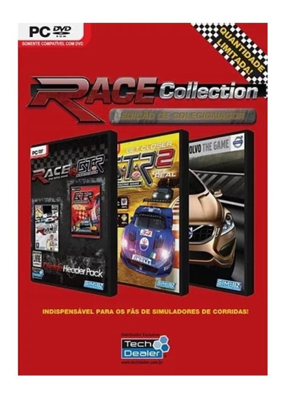 Race Collection Edição De Colecionador Limitado - Pc Lacrado