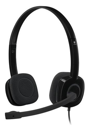 Auriculares Con Microfono Logitech Vincha 3.5m 1.8 Mts Nnet